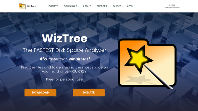 WizTree Landing Page