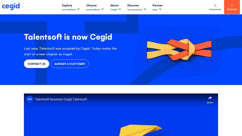 Talentsoft Landing Page