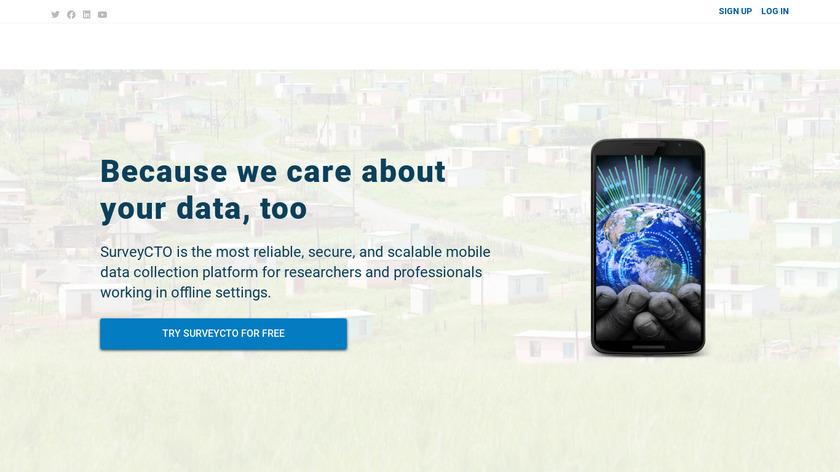 SurveyCTO Landing Page