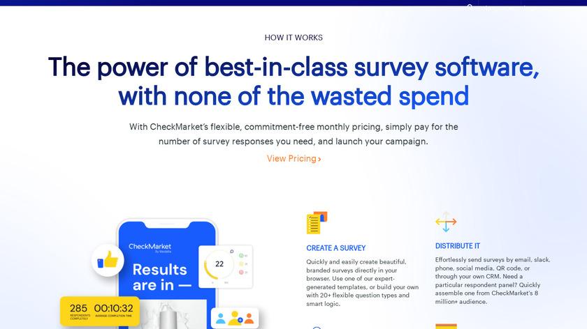 Promoter.io Landing Page