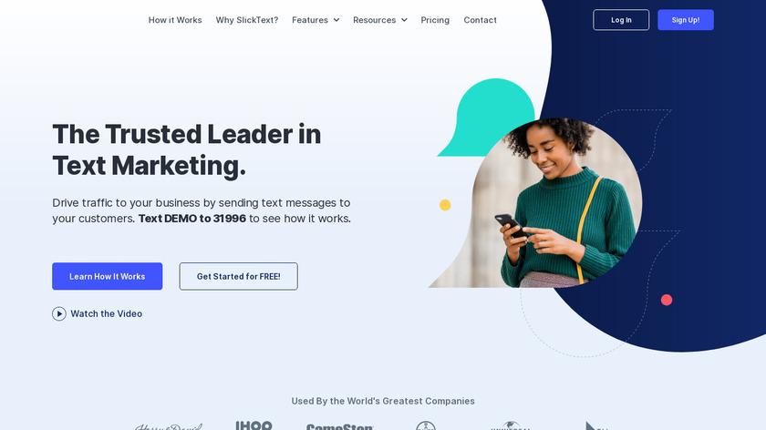 SlickText Landing Page