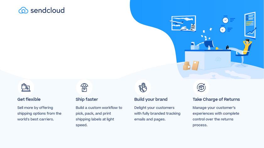 Sendcloud Landing Page