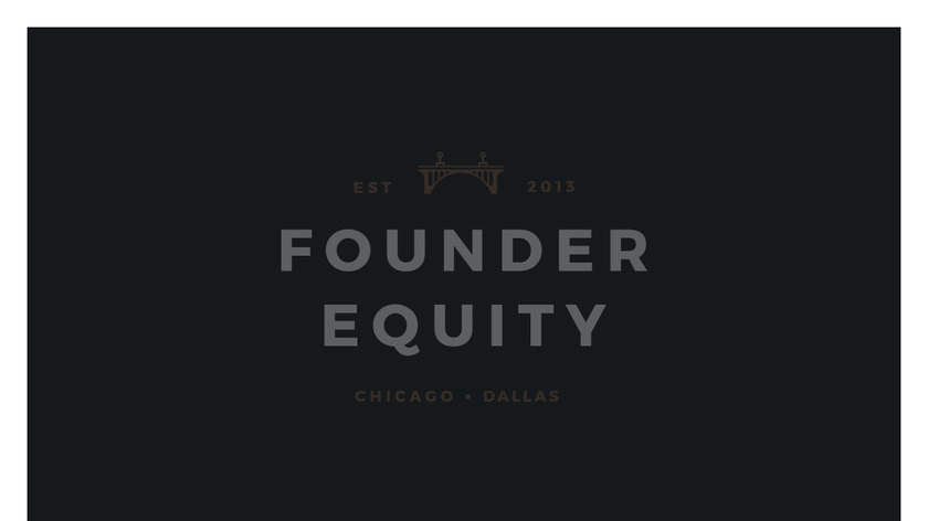 Founder Equity Landing Page