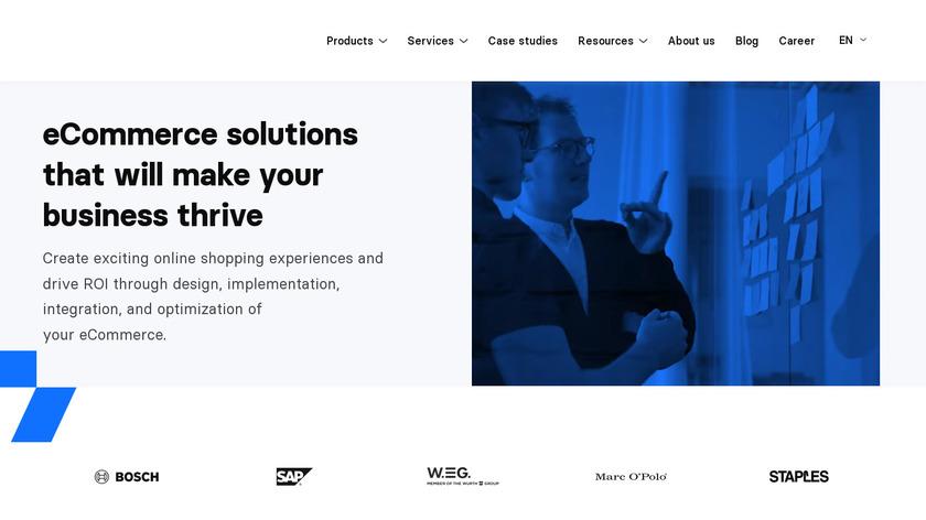 Divante Landing Page