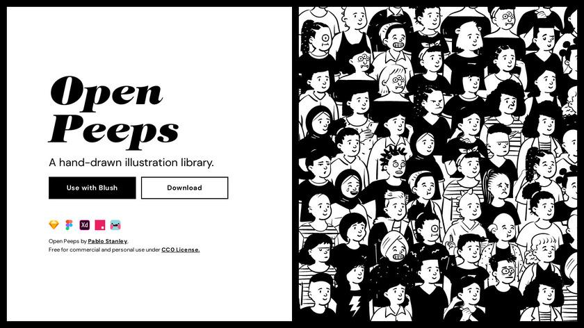 Open Peeps Landing Page