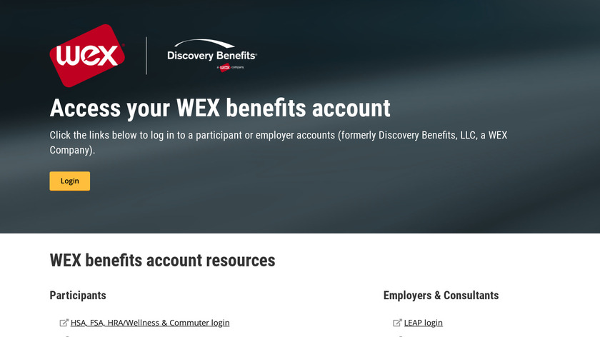 Discovery Benefits Landing Page