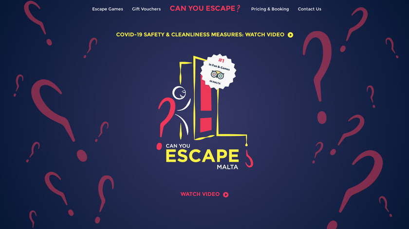 Can You Escape Landing Page