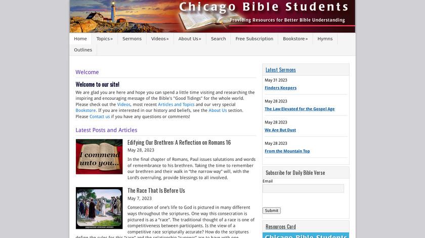 Free Bible Guide Landing Page