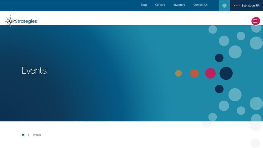 GP Strategies Landing Page