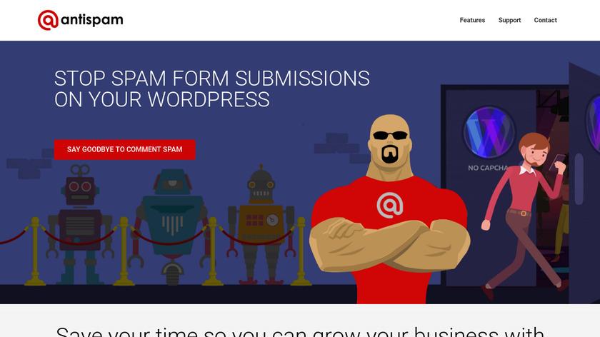 Anti-spam Landing Page