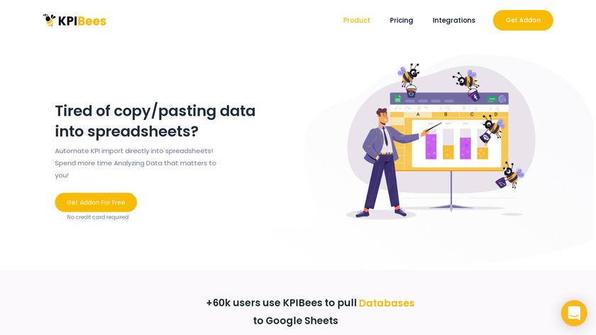 KPIBees Landing Page