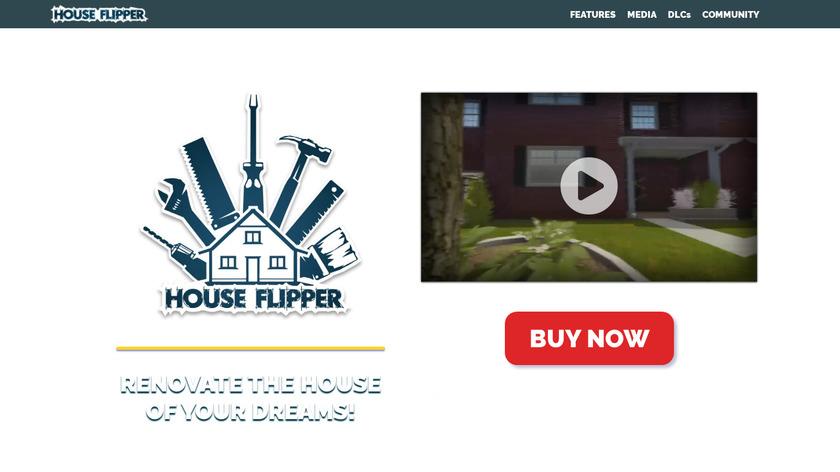House Flipper Landing Page