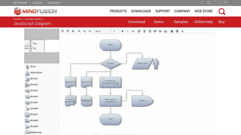 JsDiagram Landing Page