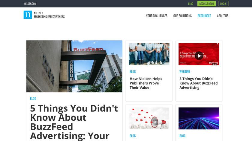 Nielsen Marketing Mix Modeling Landing Page