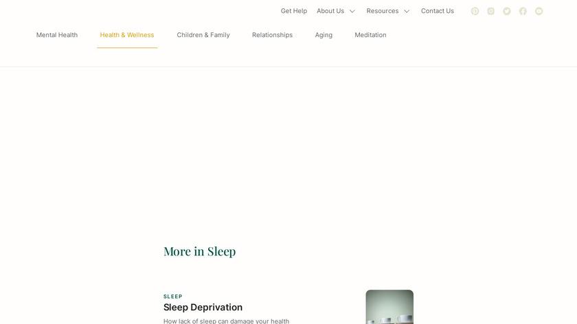 Enough Sleep Landing Page