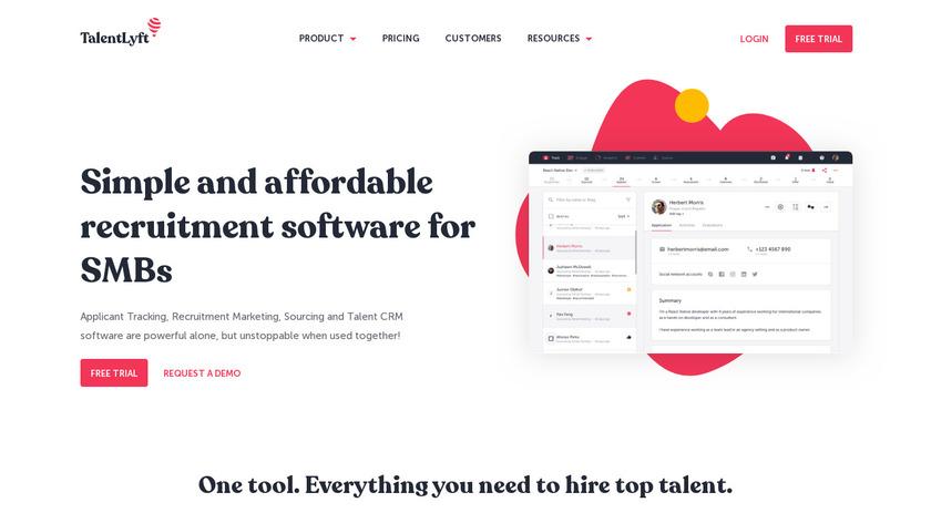TalentLyft Landing Page