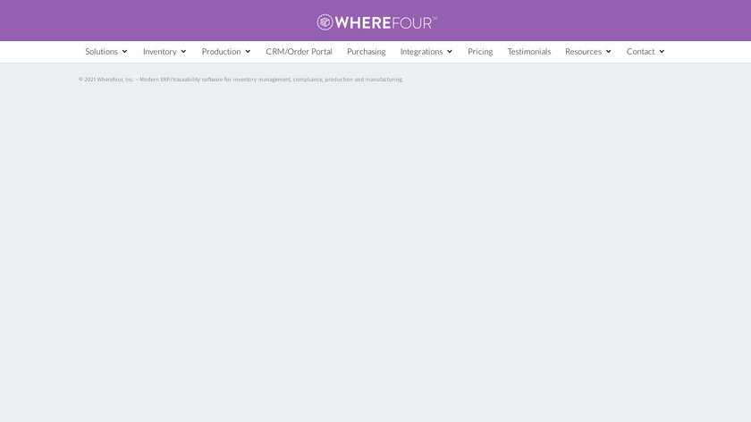 Wherefour Landing Page