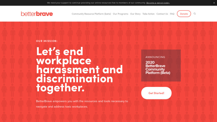 BetterBrave Landing Page