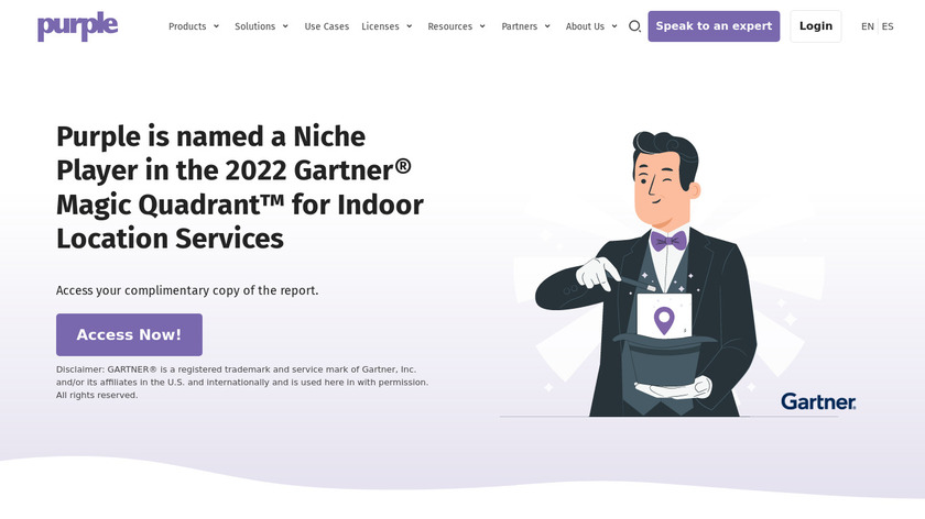 Purple Landing Page