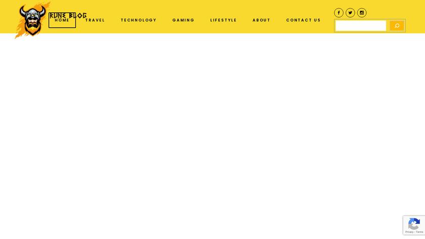 Rune Landing Page