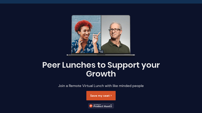 Lunch Together Landing Page