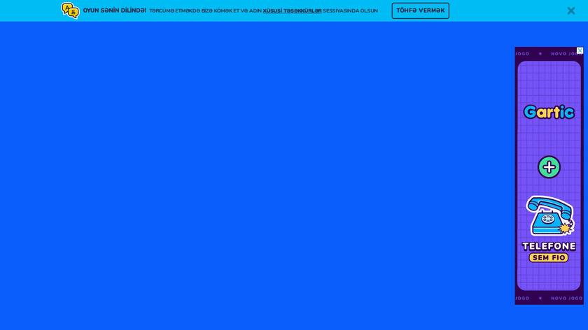 gartic.io Landing Page