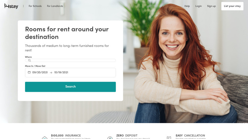 4stay Landing Page