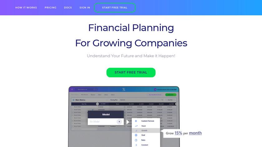 Fluxo Landing Page