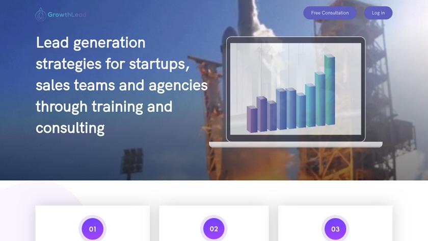 Growthlead.io Landing Page