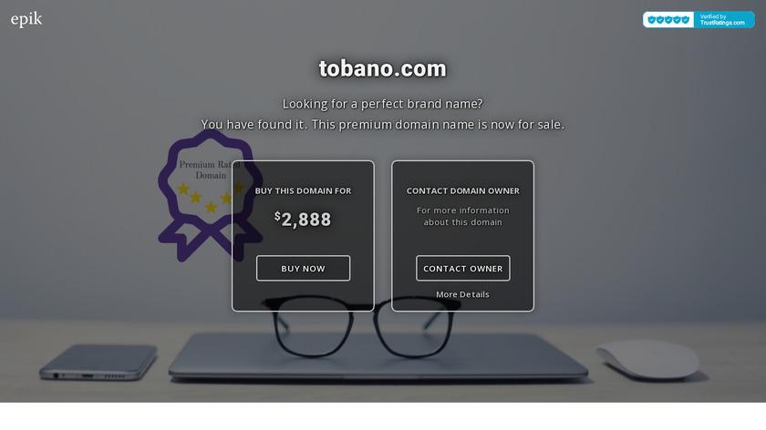 Tobano Landing Page