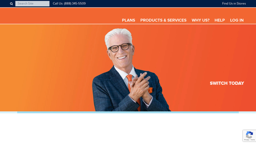 Consumer Cellular Landing Page