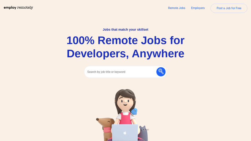 Employ Remotely Landing Page
