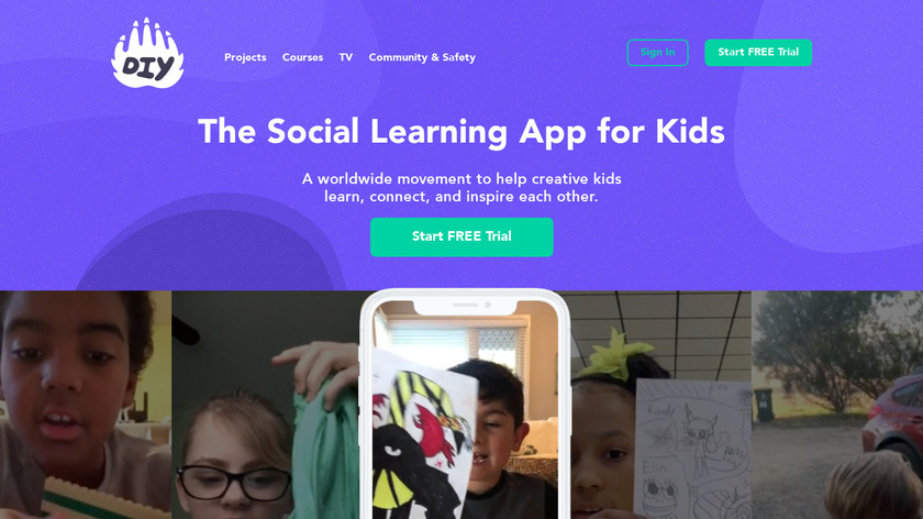 DIY.org Landing Page