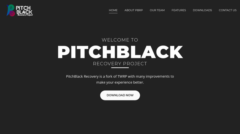 Download Pitch Black Recovery Project v3.0.0 Unofficial for Redmi Note 8/8T | Based on TWRP 3.5.0