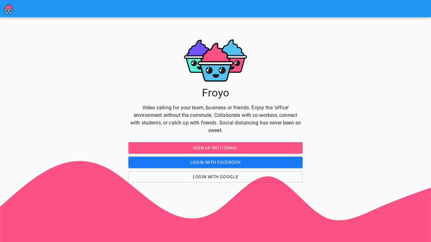 Froyo Party Landing Page