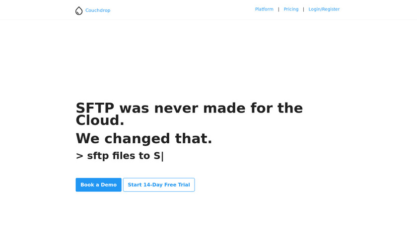 Couchdrop Landing Page