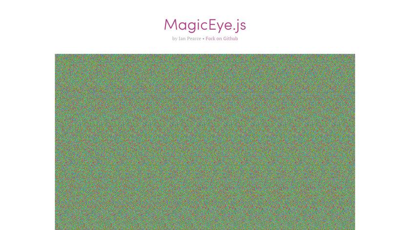 MagicEye.js Landing Page