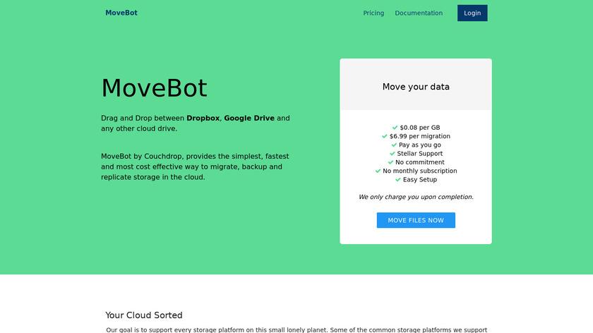 Movebot Landing Page