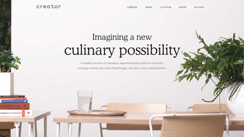 Creator Landing Page