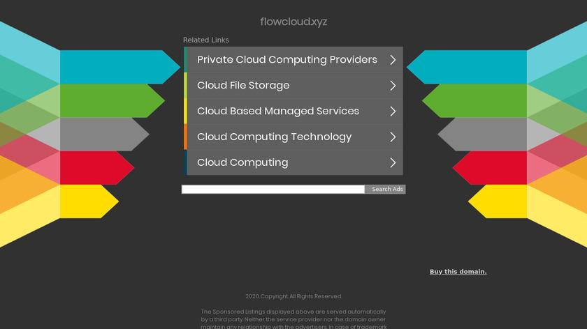 FlowCloud Landing Page