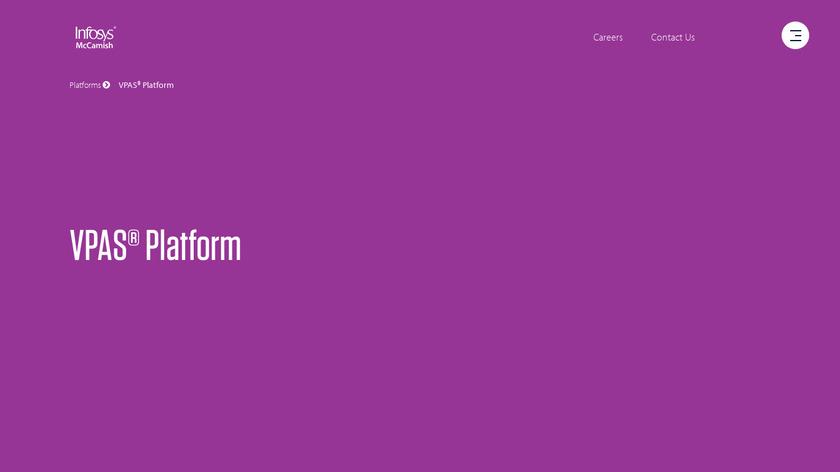 VPAS Life Landing Page