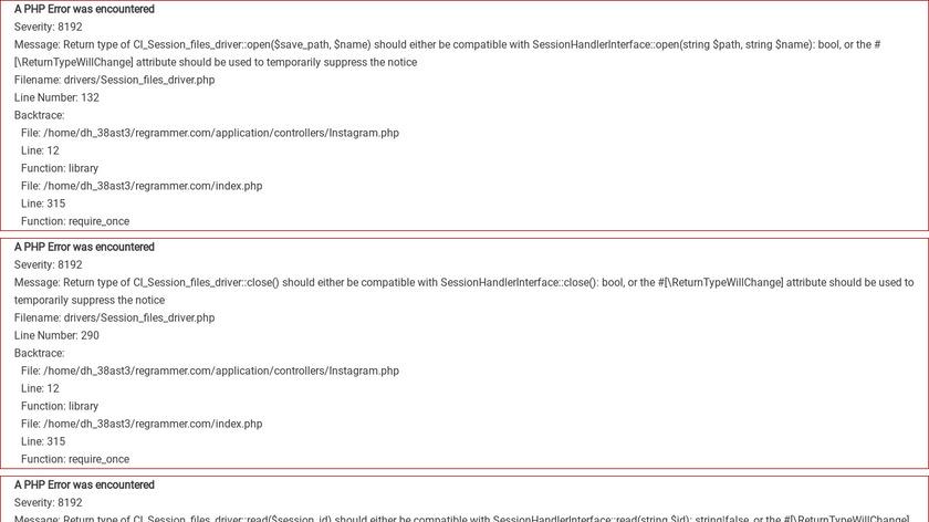 Regrammer – Instagram reposter Landing Page