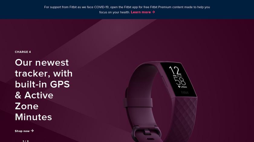 Fitbit Alta Landing Page