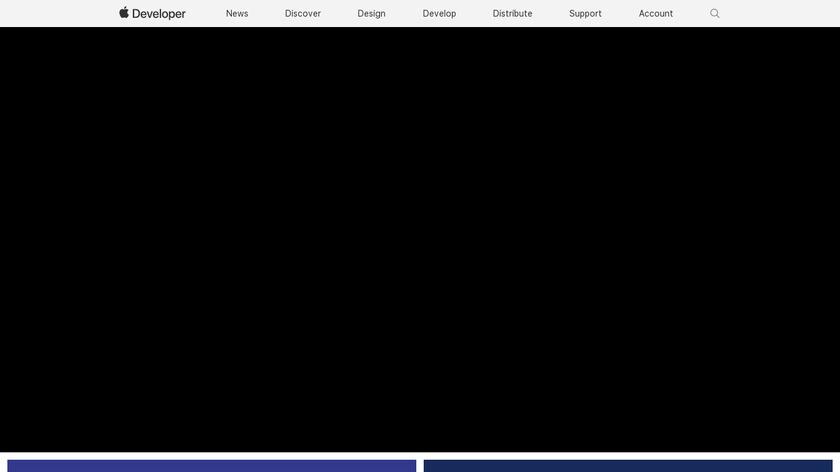 Xcode Landing Page