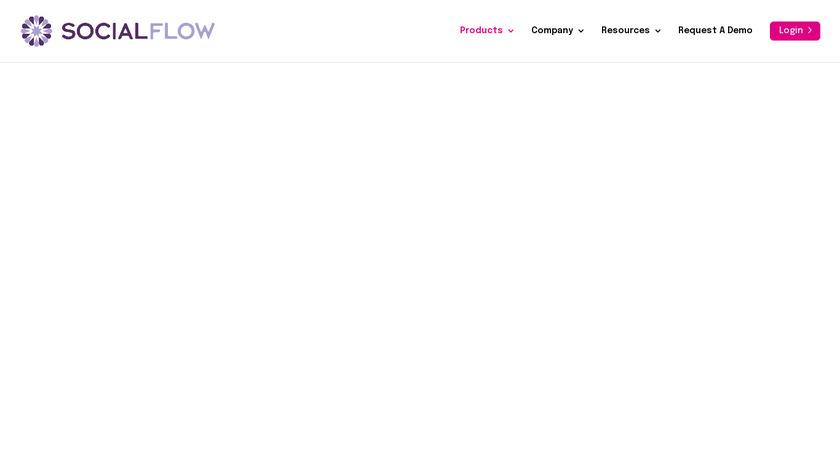 SocialFlow Landing Page