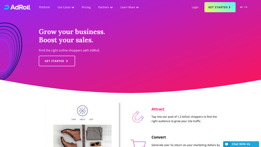 AdRoll Landing Page