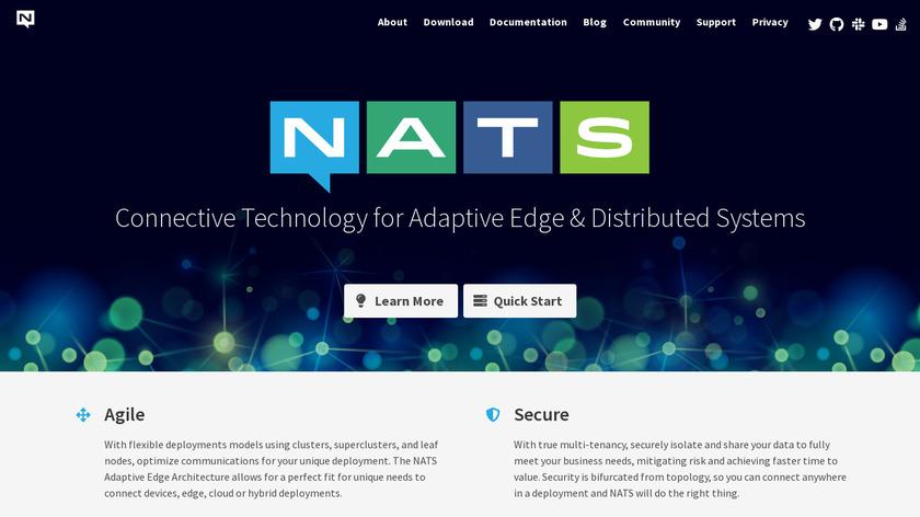 NATS Landing Page