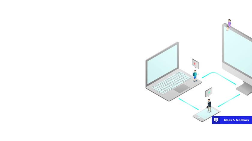 UserReport Landing Page