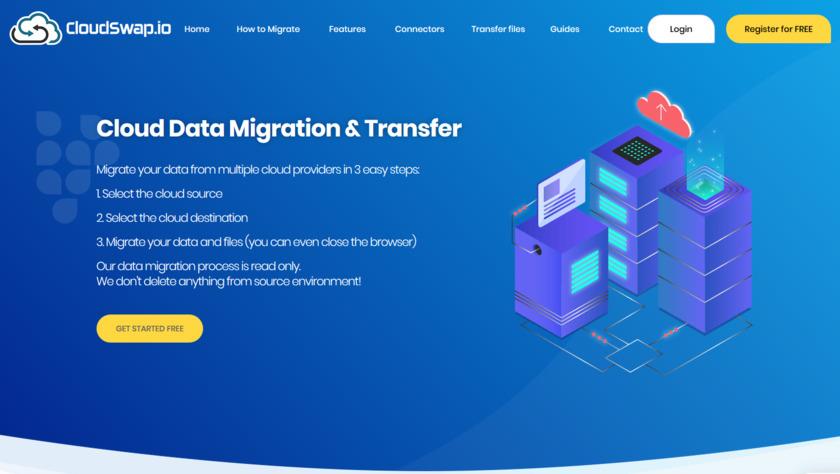 CloudSwap.io Landing Page