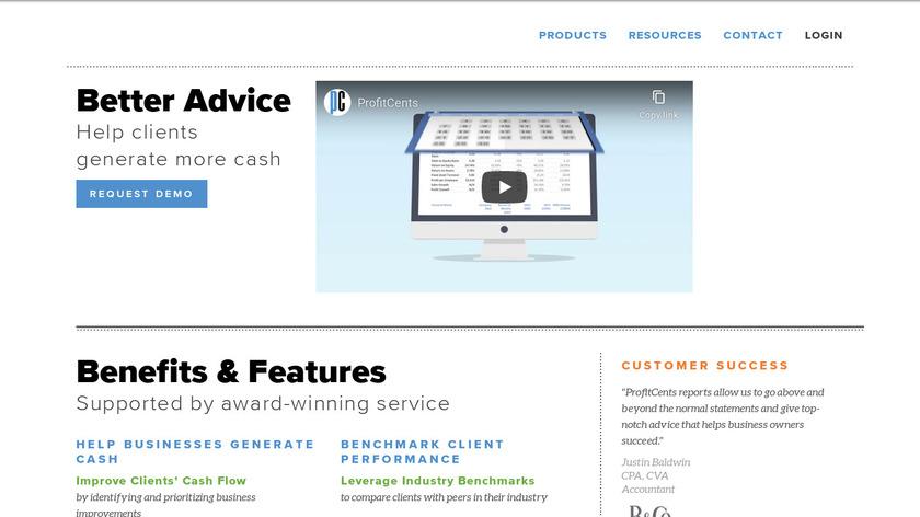 ProfitCents Landing Page